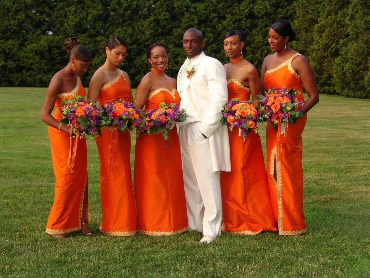 African Inspired Wedding Decor