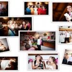 photomontage of some wedding activities